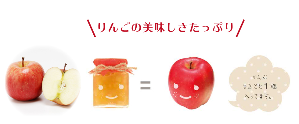 べリッチジャムりんご